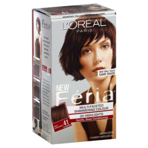 Feria Multi-Faceted Shimmering Colour 41 Rich Mahogany Hair Color