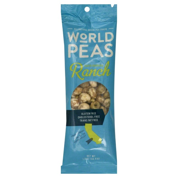 World Peas Green Pea Snack, Santa Barbara Ranch