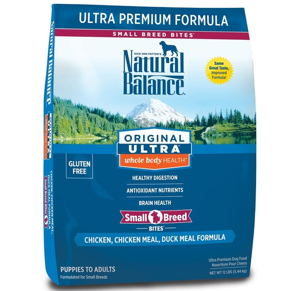 Natural Balance Small Bites Original Ultra Whole Body Health Dog Food