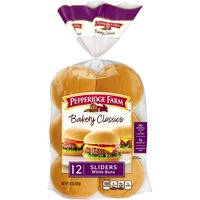 Pepperidge Farm Fresh Bakery Bakery Classics Sliders White Buns