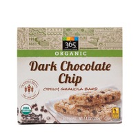 365 Organic Dark Chocolate Chip Granola Bars