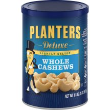 Planters Deluxe Whole Lightly Salted Cashews, 18.25 Oz