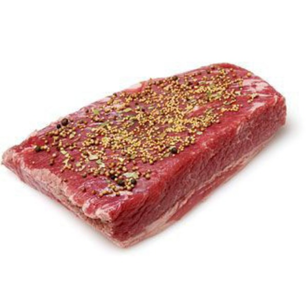 H-E-B Boneless Flat Cut Boneless Brisket Corned Beef With Juices