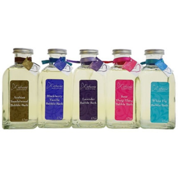 Enfusia Glass Bubble Bath Set
