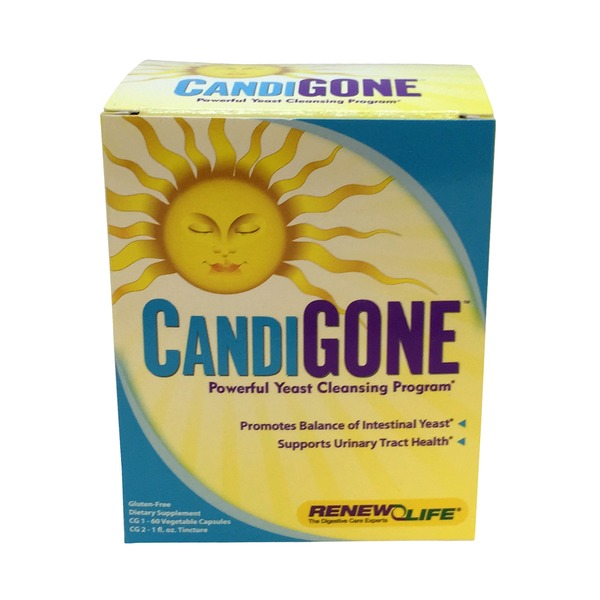 Renew Life Candigone Advanced Cleansing System