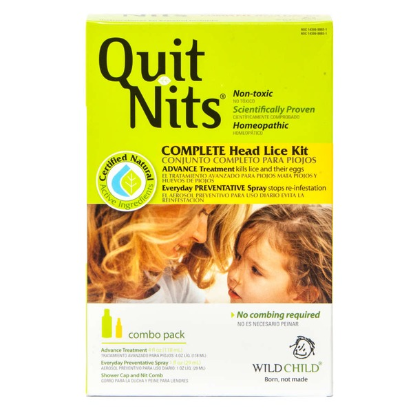 Quit Nits Complete Head Lice Kit Combo Pack