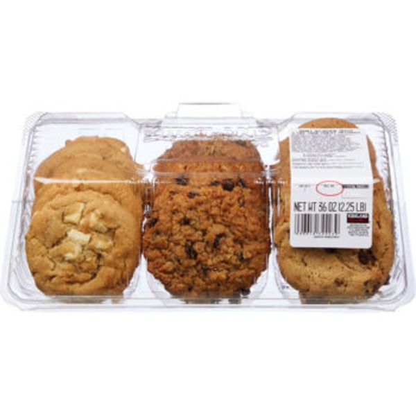 Kirkland Signature Cookie Variety Pack: Double Nut, Oatmeal and Chocolate Chunk