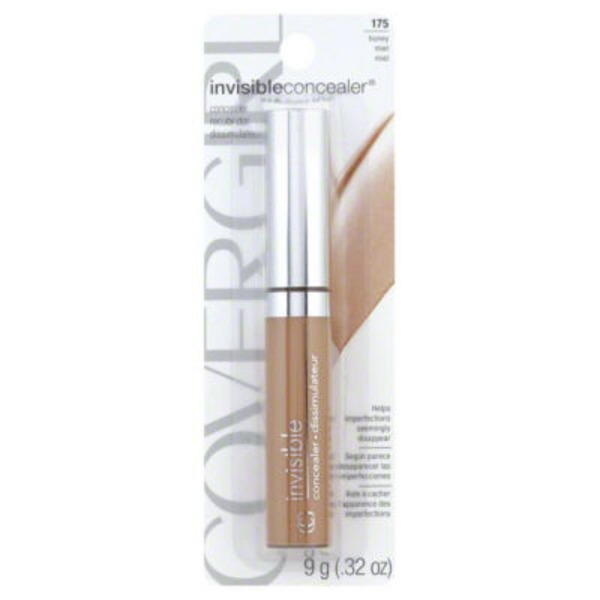 CoverGirl Invisible Concealer COVERGIRL Clean Invisible Lightweight Concealer, Honey  .32 oz. (9 g) Female Cosmetics