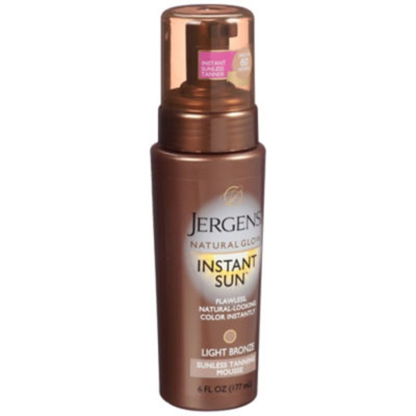 Jergens Natural Glow Instant Sun Light Bronze Moisture Mousse