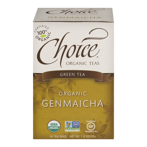 Choice Organic Teas Organic Genmaicha, Green Tea