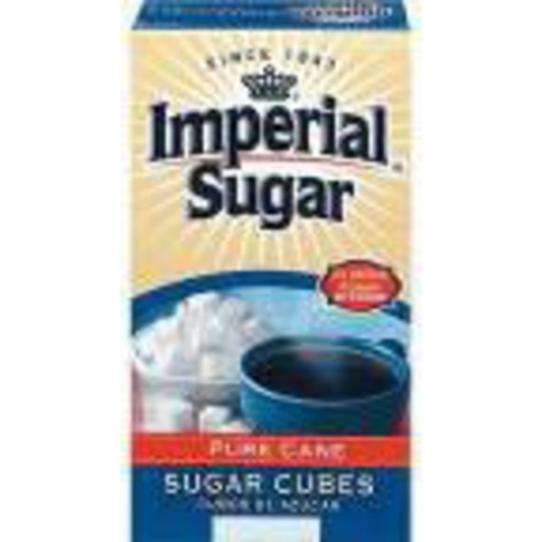 Imperial Sugar Extra Fine Granulated Pure Cane Sugar Cubes