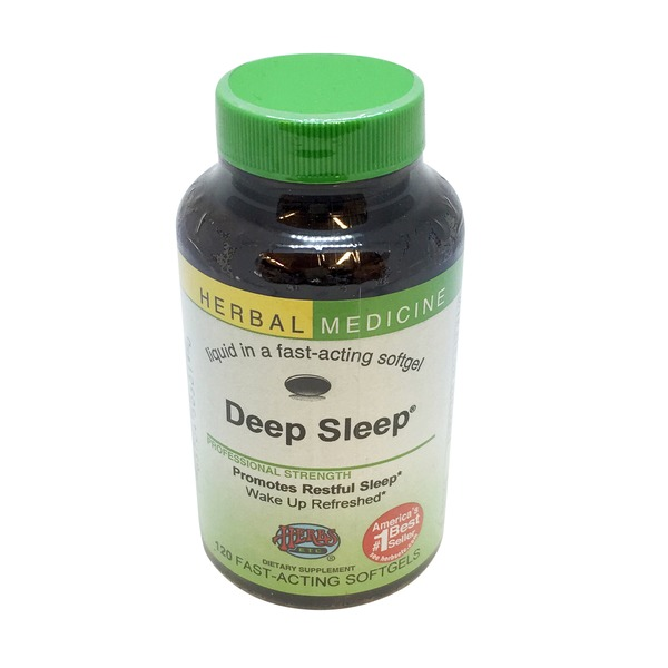 Herbs Etc. Deep Sleep Herbal Medicine Softgels