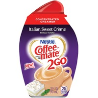 Nestlé Coffee Mate 2Go Italian Sweet Crème Concentrated Liquid Coffee Creamer