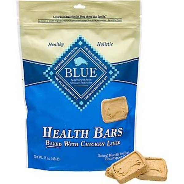 Blue Buffalo Health Bar Chicken Liver Dog Biscuits