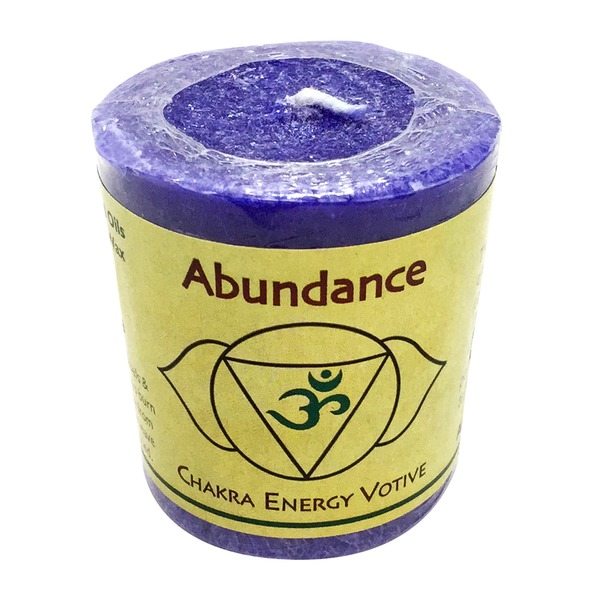 Aloha Bay Chakra Energy Votive Candle Abundance