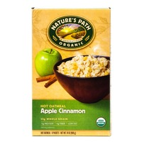 Nature's Path Organic Hot Oatmeal Apple Cinnamon - 8 CT