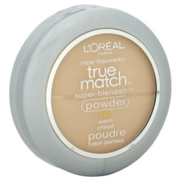 True Match Super-Blendable Powder W2 Light Ivory Foundation
