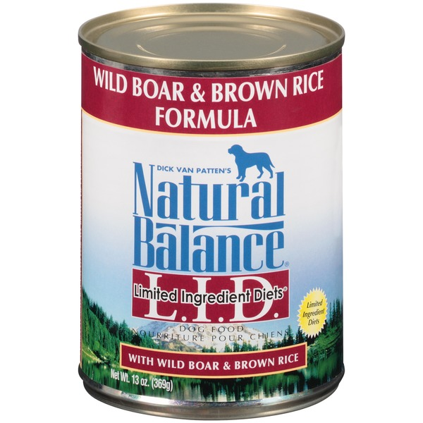Natural Balance Limited Ingredient Diets Wild Boar & Brown Rice Formula Dog Food