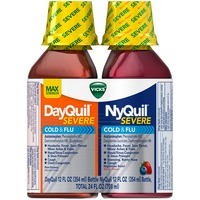 Vicks DayQuil/NyQuil Severe Liquid Cold & Flu