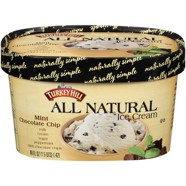 Turkey Hill All Natural Mint Chocolate Chip Ice Cream