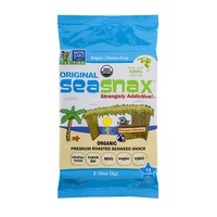 SeaSnax Premium Roasted Seaweed Snack Original