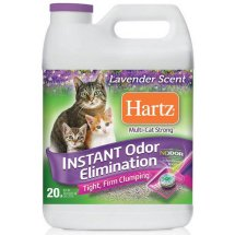 Hartz Multi-Cat Strong Lavender Scent Clumping Cat Litter, 20 lbs