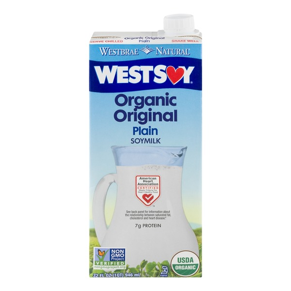 Westbrae Natural Westsoy Organic Original Soymilk Plain