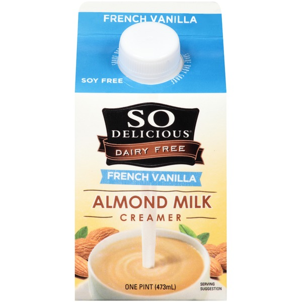 So Delicious Diary Free French Vanilla Almond Milk Creamer