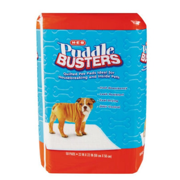 H-E-B Puddle Busters Dog Pads