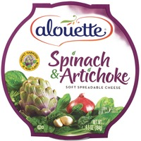Alouette Spinach & Artichoke Spreadable Cheese
