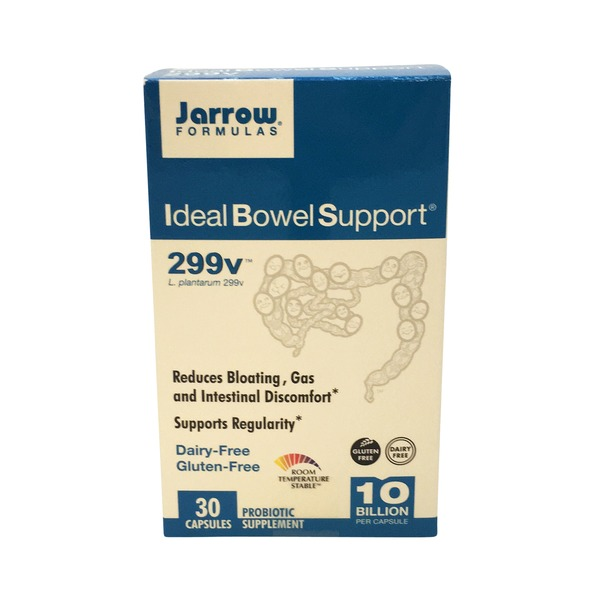 Jarrow Ideal Bowel Support 299 V Caplets