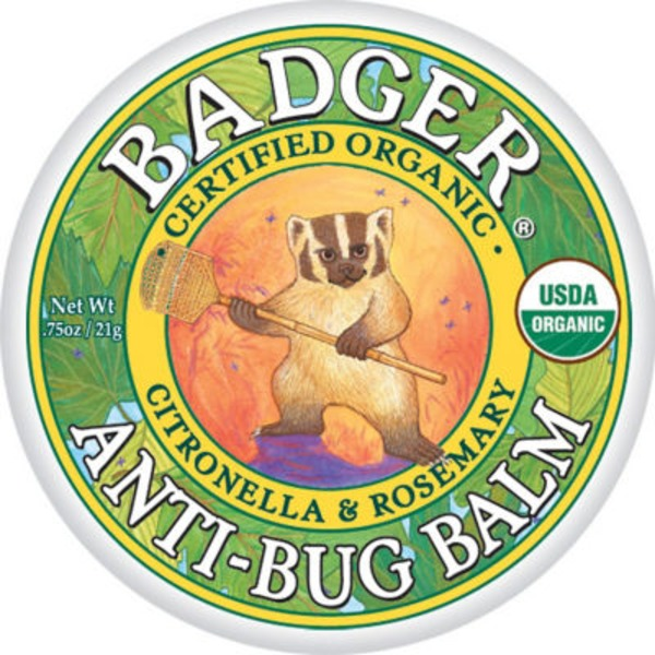 Badger Organic Citronella & Rosemary Anti-Bug Balm