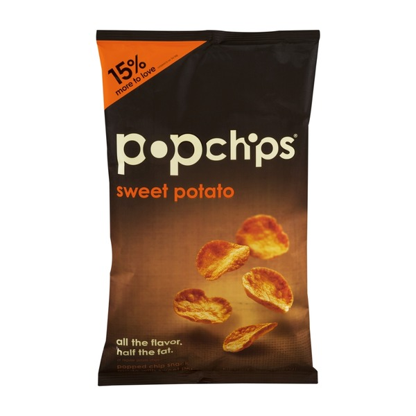 popchips Sweet Potato Popped Chip Snack