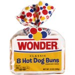 Wonder Classic Hot Dog Buns, 8 ct, 12 oz