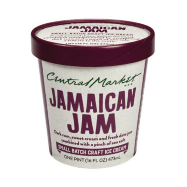 Central Market Jamaican Jam Ice Cream