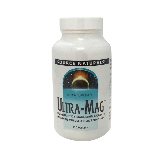 Source Naturals Ultra-Mag High-Efficiency Magnesium Complex Tablets