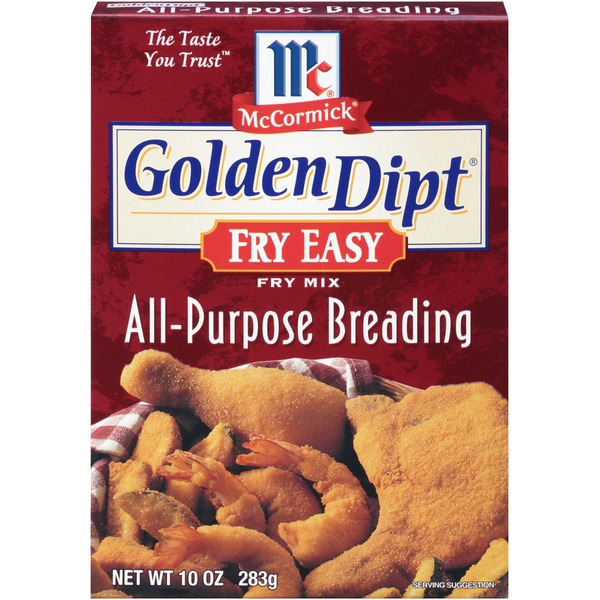 Mccormick Golden Dipt Fry Easy All-Purpose Breading Fry Mix