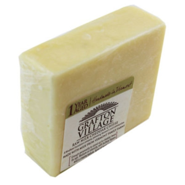 Grafton Village Vermont Raw Milk Cheddar Cheese, 1 Year