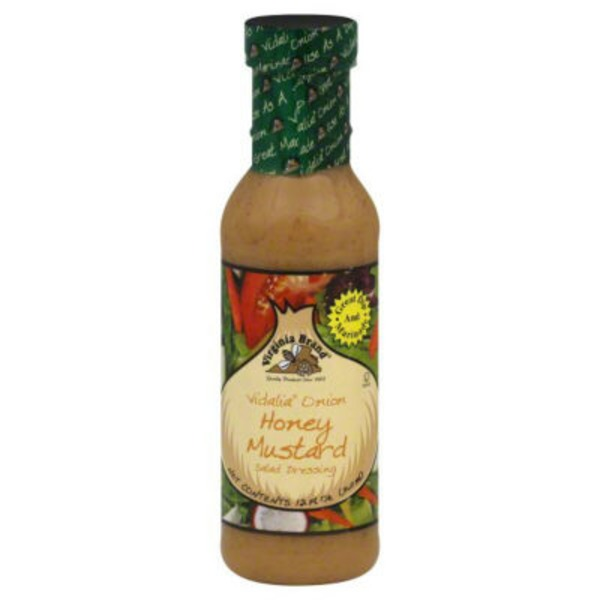Virginia Brand Vidalia Onion Honey Mustard Salad Dressing