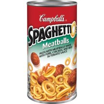 Campbell's SpaghettiOs with Meatballs, 22.2 oz.