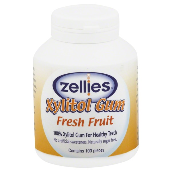 Zellies Gum Fresh Fruit