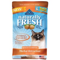 Blue Buffalo Cat Litter, Natural, Quick-Clumping, Herbal Attraction