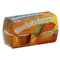 H-E-B Mandarin Oranges In Light Syrup