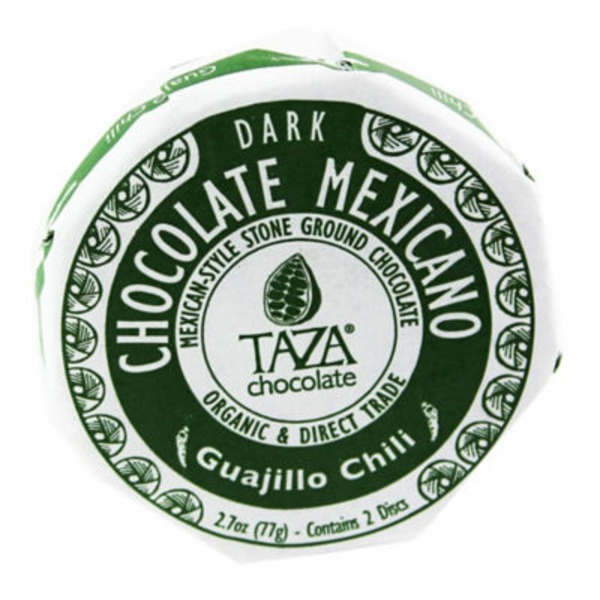 Taza Guajillo Chili Chocolate Mexicano Classic Discs