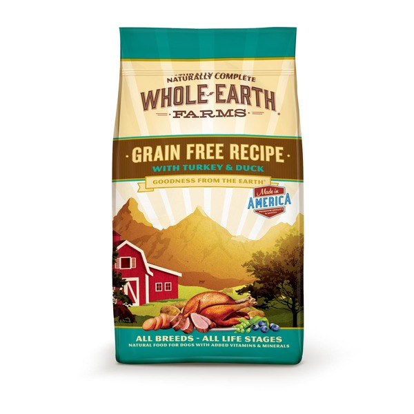 Whole Earth Farms Grain Free Recipe With Turkey & Duck