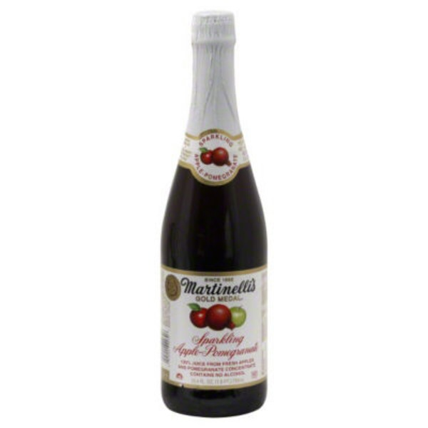 Martinelli's Gold Medal® Sparkling Apple-Pomegranate 100% Juice