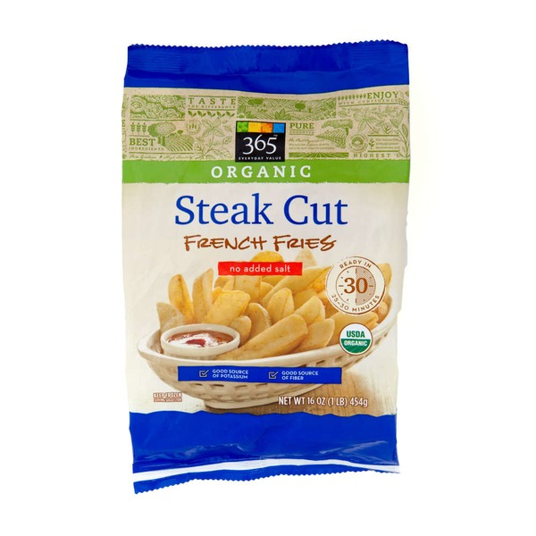 365 Organic Steak Cut French Fries