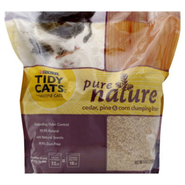 Tidy Cats Pure Nature Cedar, Corn & Pine Cat Litter