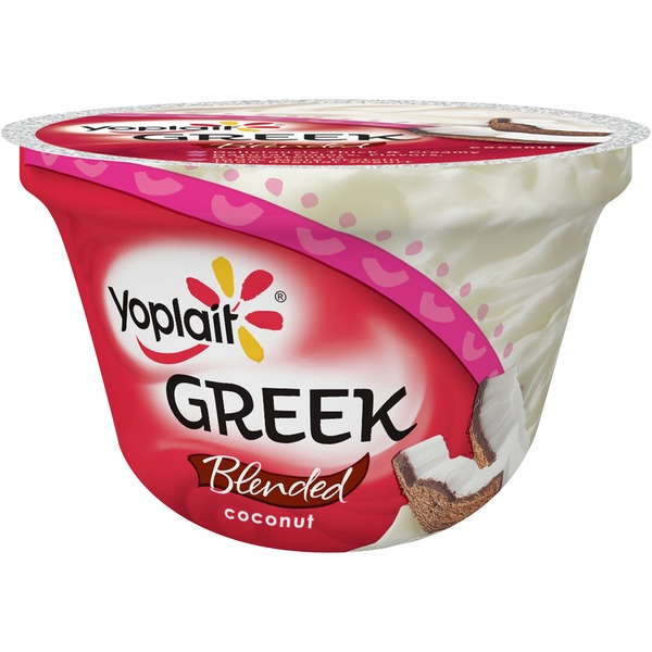 Yoplait Greek Coconut Low Fat Yogurt