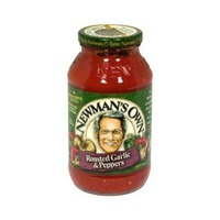 Newman's Own Pasta Sauce Roasted Garlic & Peppers